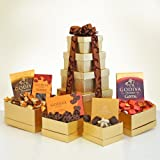 Golden Godiva Gourmet Chocolate Gift Tower - Great Idea for the Holiday Season
