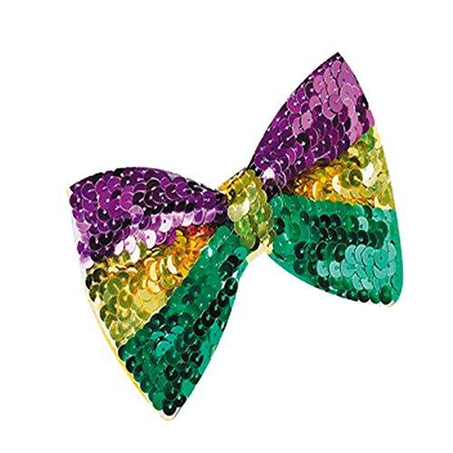 Mardi Gras Bow (U.S. Toy OD207 Mardi Gras Bow Tie)