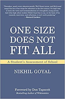 Book One Size Does Not Fit All: A Student's Assessment of School