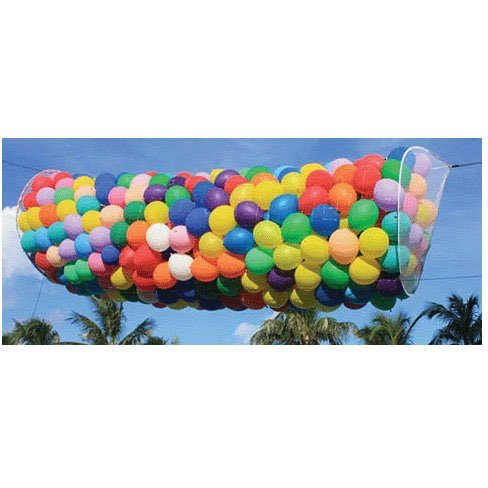 (Boss 500 Zippered Wireframe Balloon Drop Net)