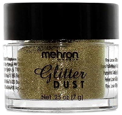 Mehron Makeup Glitter Dust Face & Body Paint.25 oz