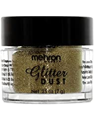 Mehron Makeup Glitter Dust Face & Body Paint (GOLD)