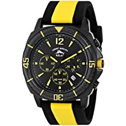 Tommy Bahama RELAX Men's RLX1232 Tallahassee Analog Display Japanese Quartz Yellow Watch