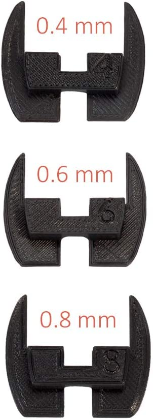 Juntas de bisagra de dirección flexible, almohadillas, amortiguadores de vibración antideslizamiento para la vespa eléctrica Xiaomi Mijia M365 / M187. Piezas de modificación de caucho impreso 3D