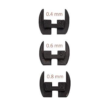 Juntas de bisagra de dirección flexible, almohadillas, amortiguadores de vibración antideslizamiento para la vespa eléctrica Xiaomi Mijia M365 / M187. ...