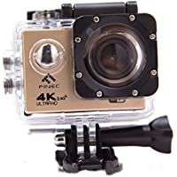 FINEC F60R Waterproof Sports Action Camera 4K 16 MP Ultra HD WIFI 170 Degree Angle Underwater Camcorder With 2.0Inch LCD Screen And Full Accessories Kits