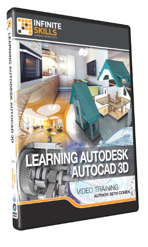 Learning Autodesk AutoCAD 3D - Training DVD by Infiniteskills