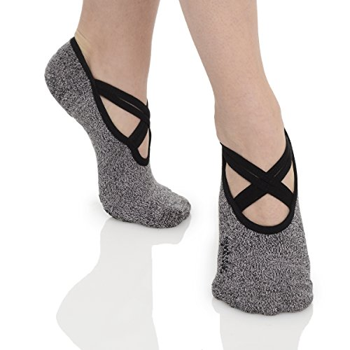 great-soles-womens-ballet-grip-sock-for-barre-pilates-yoga-one-size-comfortably-fits-shoe-sizes-6-10