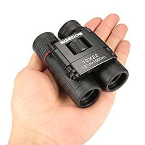 10x22 Binoculars,SGODDE Lightweight Compact Folding Telescope, Small Mini Pocket Binocular for kids /adults/outdoor birding/ travelling/sightseeing/ hunting,Christmas gifts