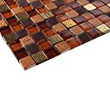 Glossy Jam Raindrop Modern Square Glass Mosaic Tiles for Bathroom and Kitchen Walls Kitchen Backsplashes (Free Shipping)