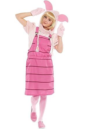 Amazon.com  Disney Winnie the Pooh Costume - Casual Piglet Costume ... af8c337724