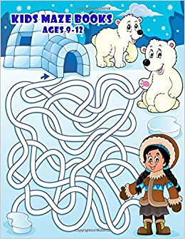 Amazon com: Kids Maze Books Ages 9-12: Improve Problem Solving and
