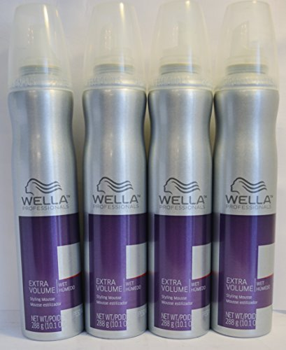Wella Extra Volume Styling Mousse 10.1oz (4 Pack) by N/A by Wella