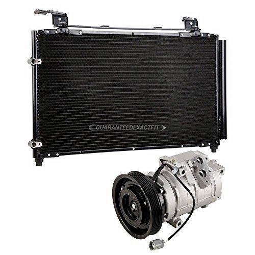 Honda Odyssey A/c Condenser (Brand New AC Compressor + A/C Condenser and Drier for Honda Odyssey - BuyAutoParts 60-86920R3 New)