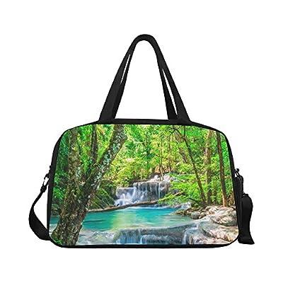 InterestPrint Custom Palm Trees Travel Bag//Duffel Bag//Luggage Bag