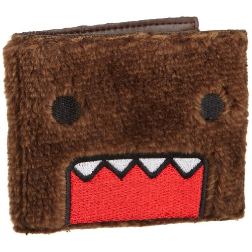 Domo Mens Plush Wallet  Brown  One Size