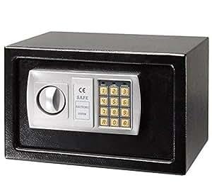 12 5 electronic digital keypad lock safe box for guns cash. Black Bedroom Furniture Sets. Home Design Ideas