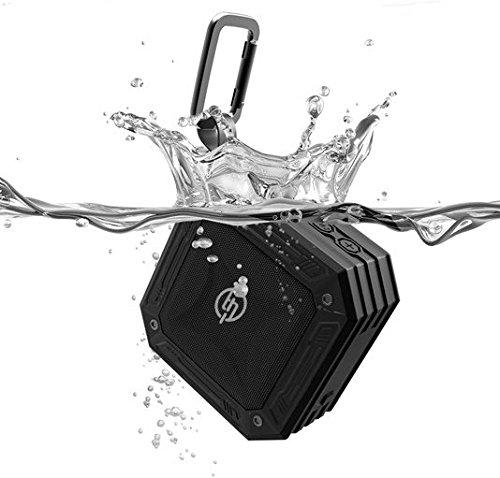TECHQ HyrdoSound Sport - Waterproof (IP67) Outdoor Bluetooth Speaker 5W - 16 hours of play time by TECHQ