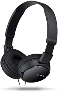 Sony New - MDRZX110B - ZX110 Entry Overhead Headphones (Black)