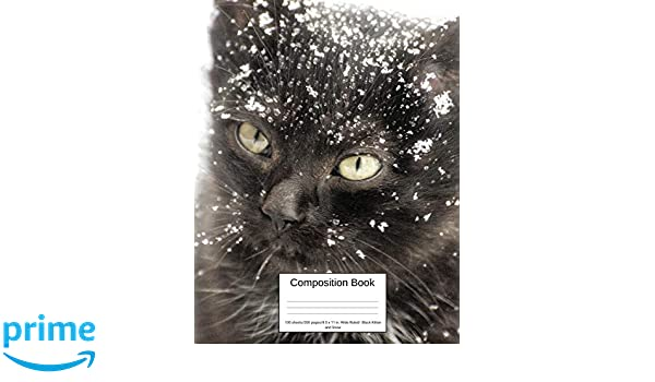 Composition Book 100 sheets/200 pages/8.5 x 11 in. Wide ...