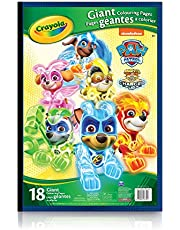 Crayola Giant Colouring Pages Paw Patrol Arts & Crafts