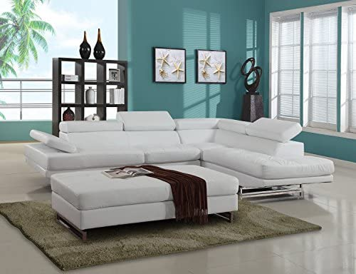 Amazon.com: Blackjack muebles 8136-white-raf-sec 8136-white ...