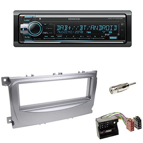 JVC Radio 2 DIN USB Bluetooth Ford Focus DA3 03//2007-07//2010 silber