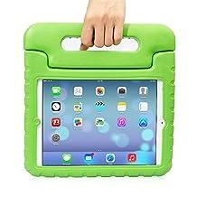 Apple iPad air 2 Kids Case,Ocuya Kiddie Series Shockproof Case Light Weight Case With Handle for Apple iPad air 2 (iPad air 2, Green)