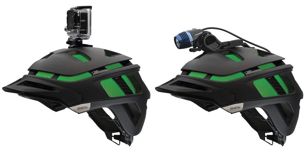 Smith Unisex Kit FF 2 Light Mount Casco Frontal, Negro, Talla Ú nica Talla Única I700012OY0000