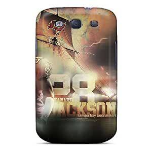 MansourMurray Samsung Galaxy S3 Shock Absorption Hard Phone Case Unique Design Stylish Tampa Bay Buccaneers Series [AQm10694BuVY]