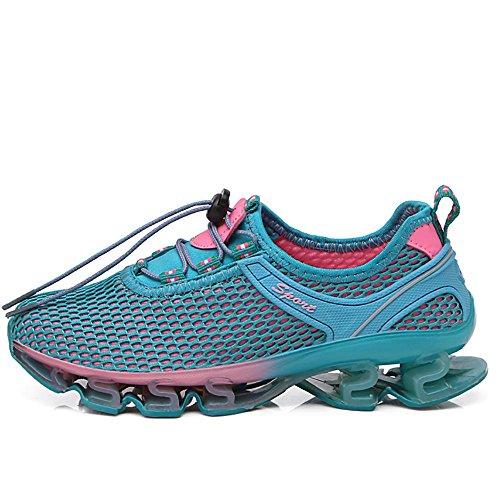 Zapatillas Deportivas Casuales para Correr con absorción de Golpes, para Gimnasio, Senderismo, Running, Fitness, Ligeras, Zapatos Deportivos neutros 36