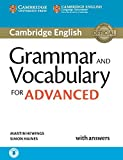Grammar and Vocabulary for Advanced Book with Answers and Audio downloadable (Cambridge Grammar for Exams)