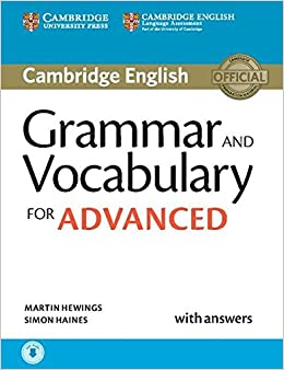 Grammar And Vocabulary For Advanced Book With Answers And Audio Downloadable por Martin Hewings epub
