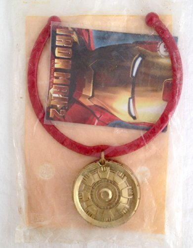 Burger King Kids Meal Iron Man 2 Movie Lightup Mark VI Charm Necklace Toy ()