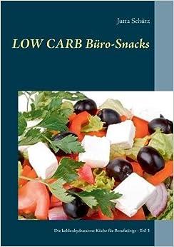 Low Carb Büro-Snacks