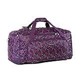 Pacific Coast Signature Medium Travel Duffel Bag, Twinkle Star Purple