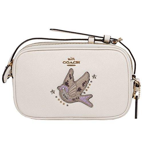 COACH Crossbody Bag Small Leather Bag (Gold (Small Coach Bag)