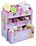 Disney Princess Multi-Bin Toy Organizer