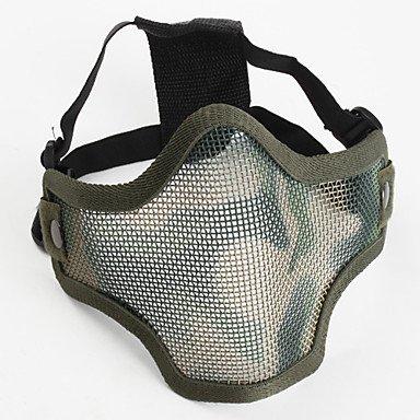 magic.Half Face Fencing Protective Mask , Green