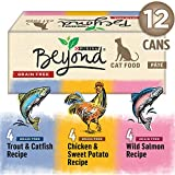 Beyond Grain Free Pâté, Natural Wet Cat Food Variety Pack 12-85g Cans