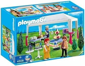 PLAYMOBIL - Familia Carpa Nupcial (4308): Amazon.es: Juguetes y juegos