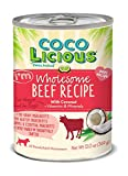 Party Animal – Coco Licious – Wholesome Beef – Dog Recipe – Pack of 12 Cans – 13oz. Review