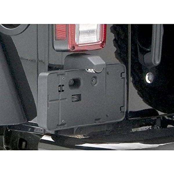 Rear License Plate Mounting Holder Bracket /&Light For 2006-2017 Jeep Wrangler JK