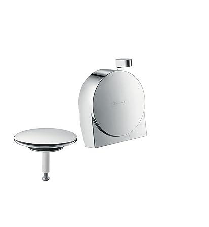 Hansgrohe 58117000 Exafill S embellecedor y tapa para bañeras normales y especiales, cromo
