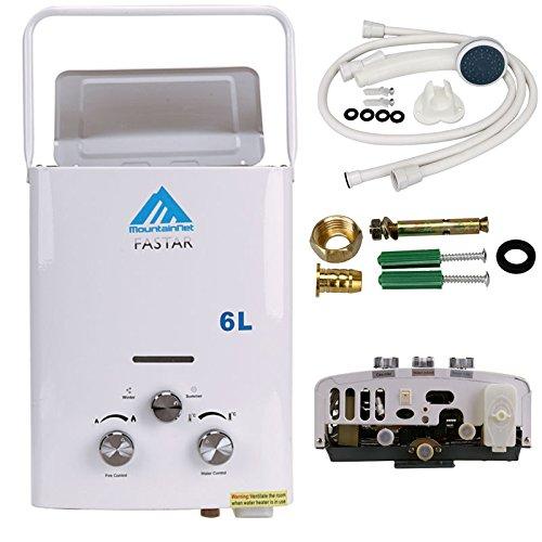 ridgeyard 6l min 1 6 gpm lpg propane gas portable. Black Bedroom Furniture Sets. Home Design Ideas