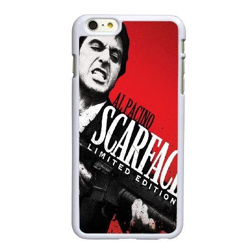 Q4Z29 Scarface Y7O5YM coque iPhone 6 4.7 pouces Cas de couverture de téléphone portable coque blanche KU8JTE4HF