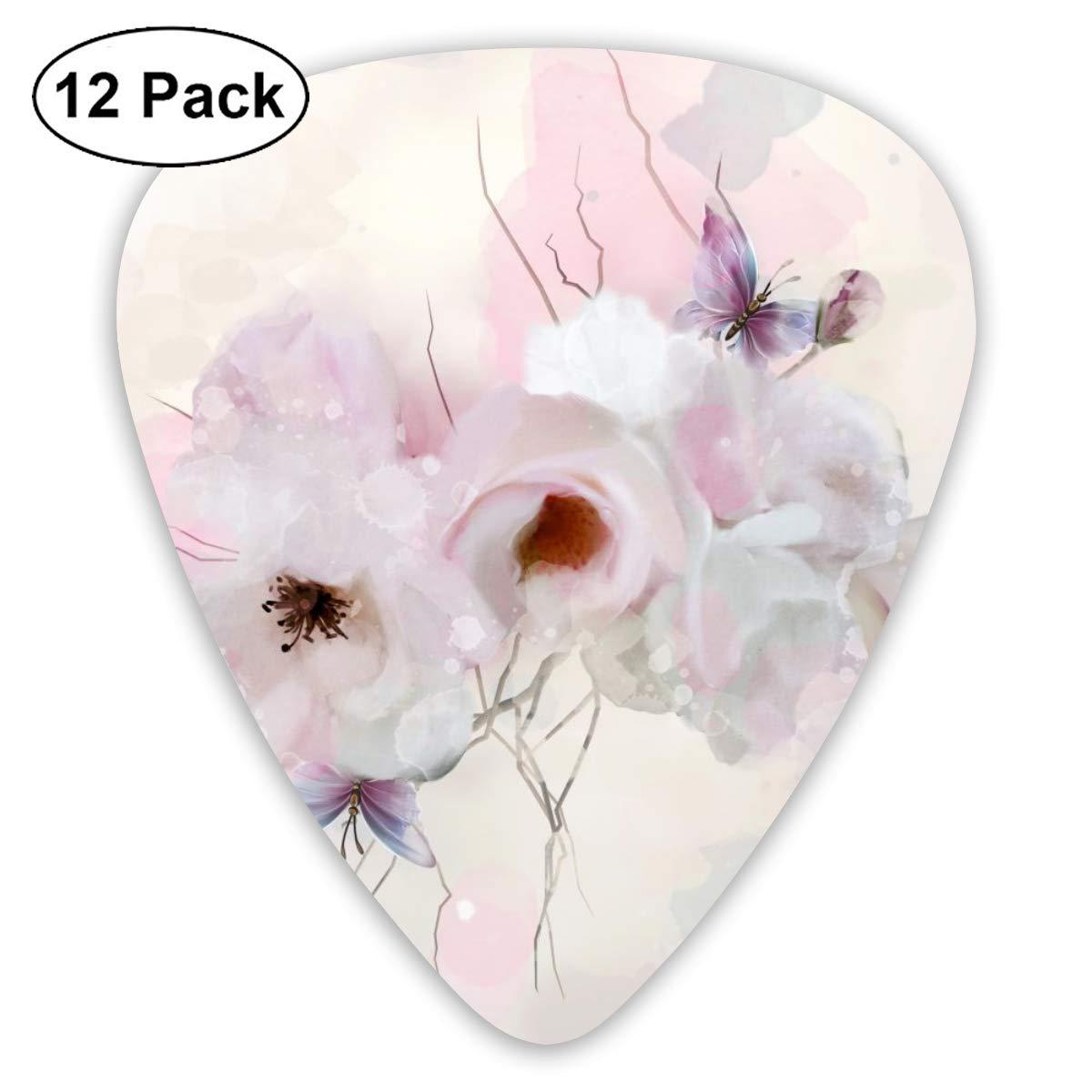 Cavdwa Acuarela Composición con Flores de Primavera Personalizadas ...