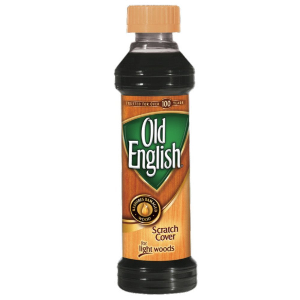 Old English Light Wood Scratch Cover, 8 oz, 8 Ounce (Pack of 1), Multicolor