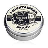 Magic Beard Balm by Mountaineer Brand: All Natural Beard Conditioning Balm (Original)