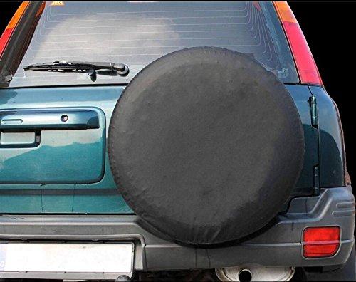 17f/ür Durchmesser 31-33 LITTOU Universal Reserveradabdeckung 4WD 4X4 weiches Leder Fall Schutz